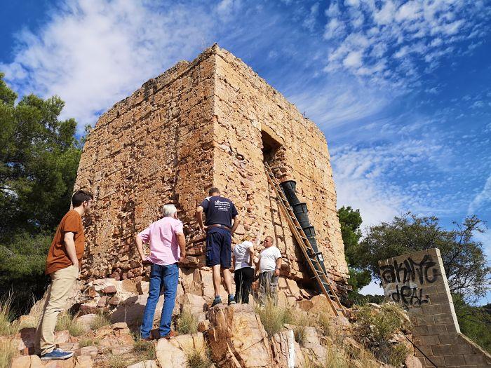 torre ermita serra camp de túria