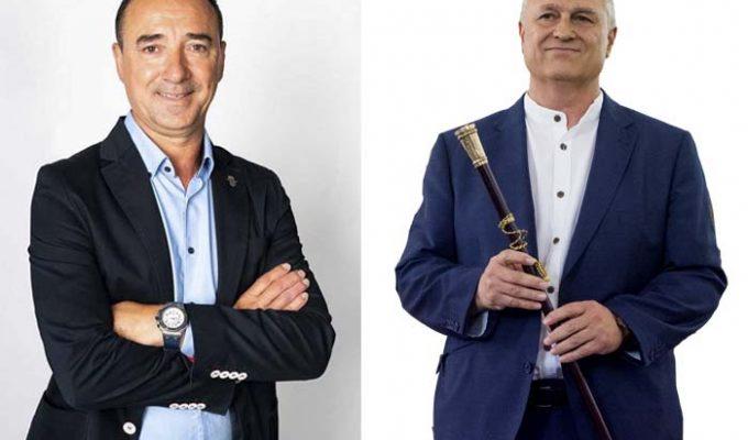 Robert Raga y Manolo Civera