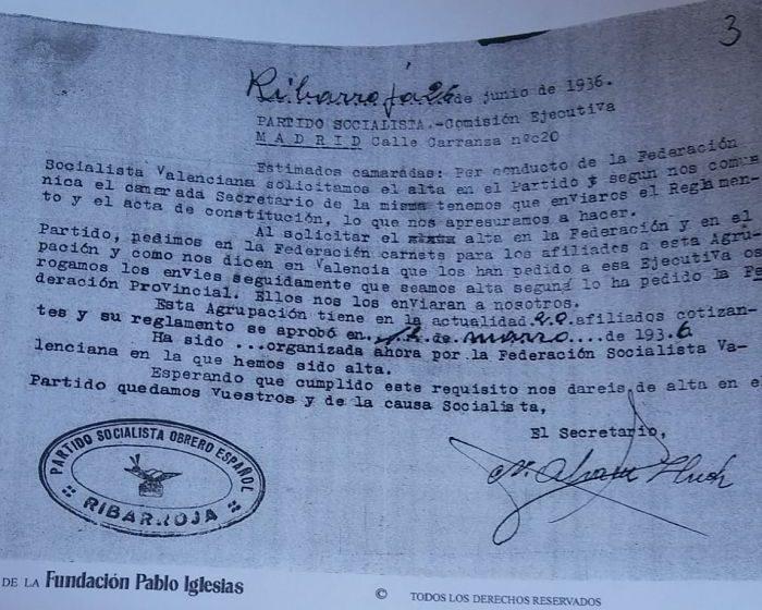 PSOE Riba-roja Camp de Túria
