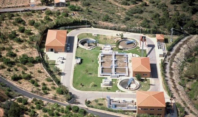Depuradora EDAR Nàquera-Serra Camp de túria