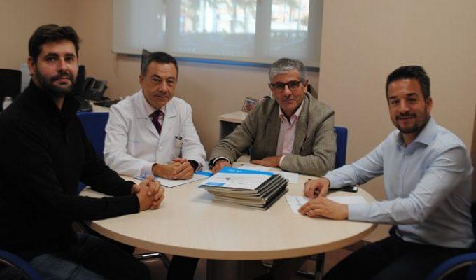 Reunión Alfaro hospital loriguilla Camp de túria