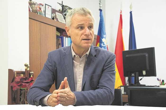 Salva Torrent alcalde de l'Eliana