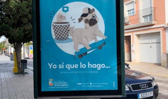 campaña cacas perros san antonio de benagéber Camp de Túria