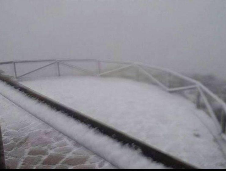 nieve Rebalsadors Serra Camp de Túria