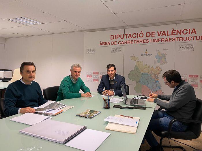 Reunión Diputación CV375 l'Eliana Camp de Túria