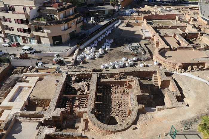 Termas-romanas-de-Mura Llíria Camp de Túria