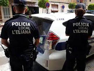 policia l'eliana camp de túria