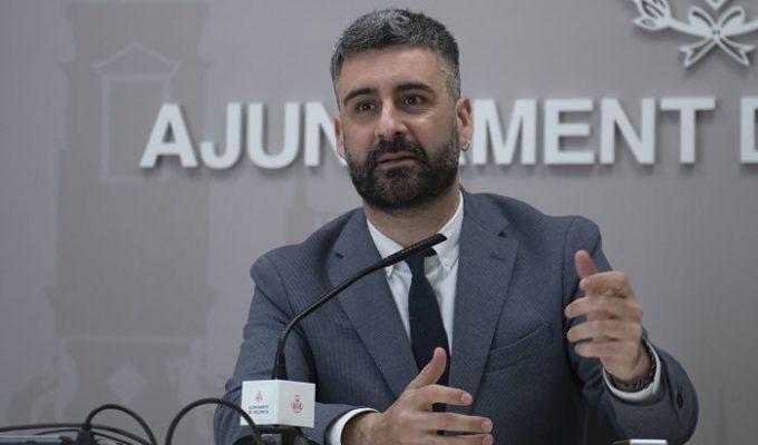 Pere Fuset concejal Fallas Valencia