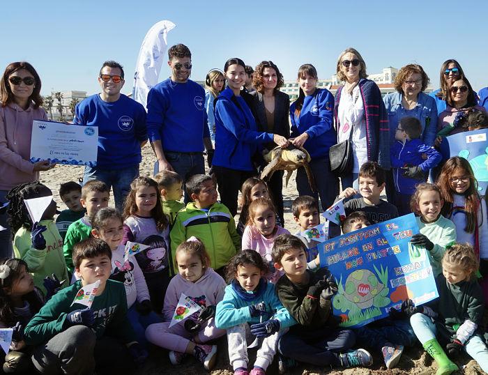 escolares La Poba oceanogràfic Camp de Túria