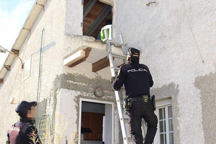 policia plantación marihuana Bétera Camp de Túria