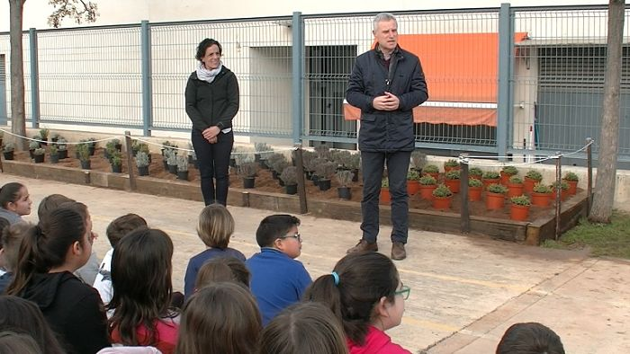 Día del árbol l'Eliana Camp de Túria