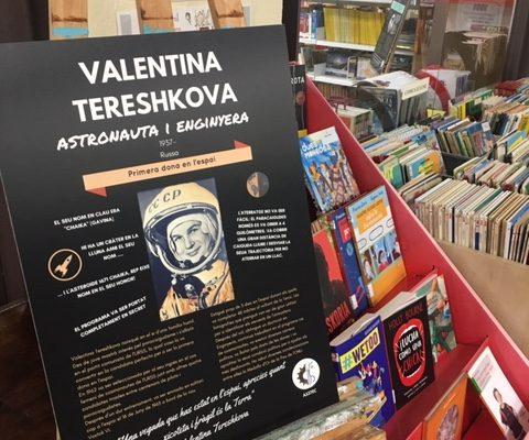 Exposición Mujeres en la Ciencia Biblioteca l'Eliana Camp de Túria