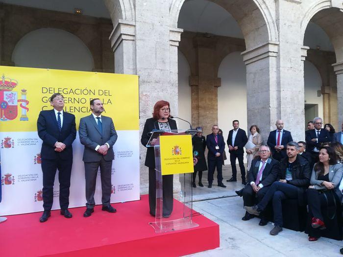 Gloria Calero delegada gobierno