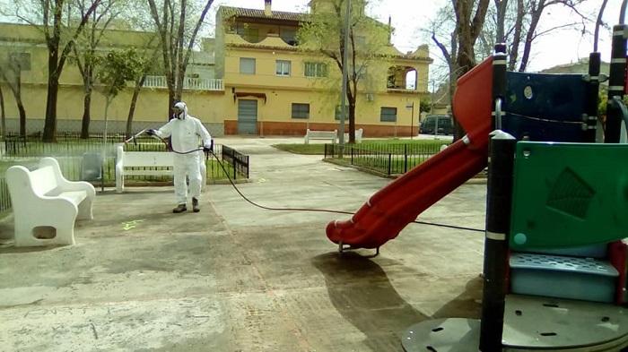 desinfeccion parques