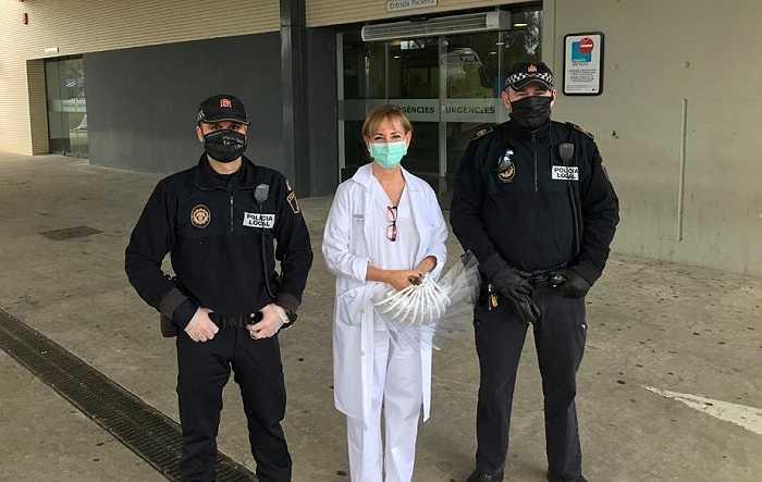 policias lliria sanitarios