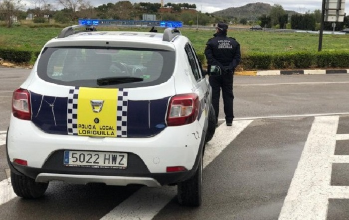 policia local loriguilla