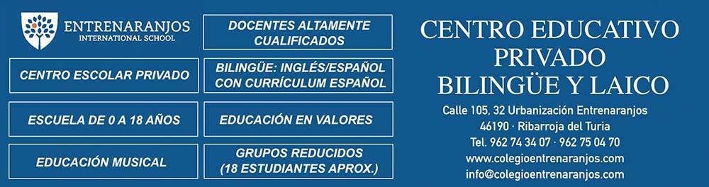Entrenaranjos International School faldón