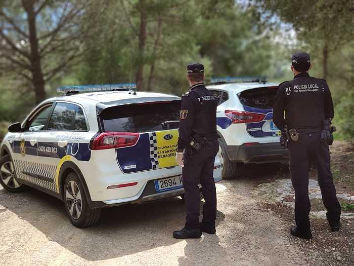 policia local san antonio