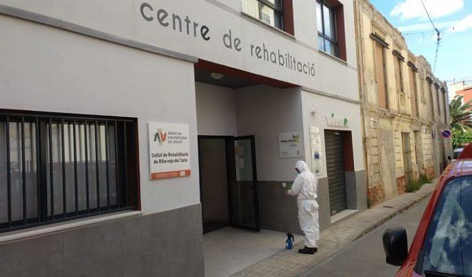 desinfección Ribarroja Camp de Túria