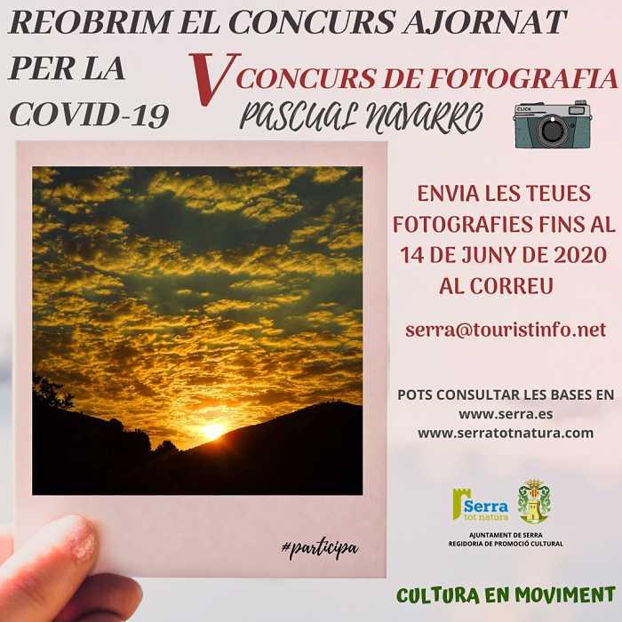 cartel concurso de fotografia serra