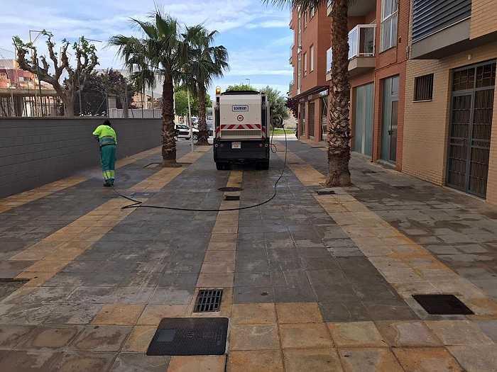 desinfeccion calles Llíria