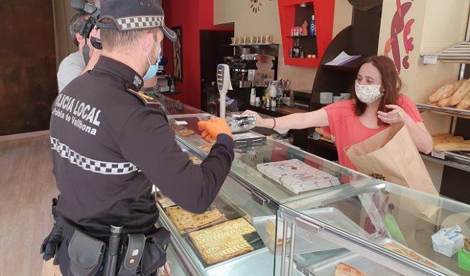 policia la pobla de vallbona