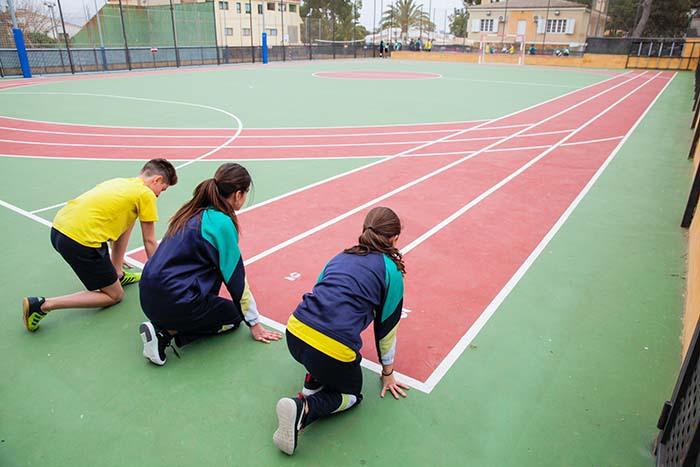 Colegio Rivas-Luna pistas de atletismo