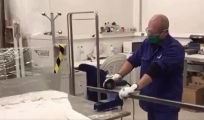 trabajador hospital lliria