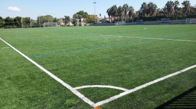 Campo fútbol l'Eliana Camp de Túria