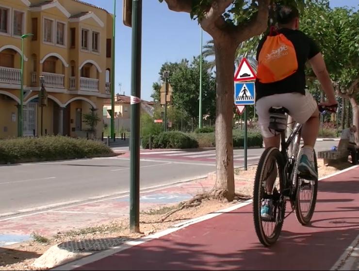 bici l'Eliana camp de Túria