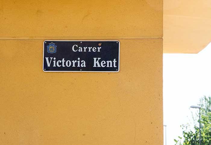 Carrer Victoria Kent de l'Eliana