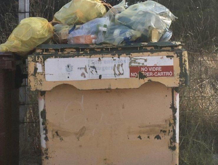 basura l'Eliana Camp de Túria