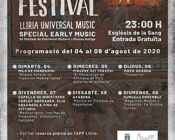 cartel llum festival