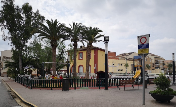 plaza de la estación