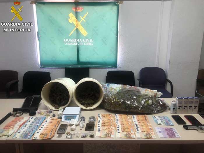 Alijo droga en Riba-roja de Túria operación Dokeshi