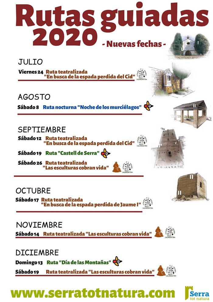 Rutes turístiques Serra