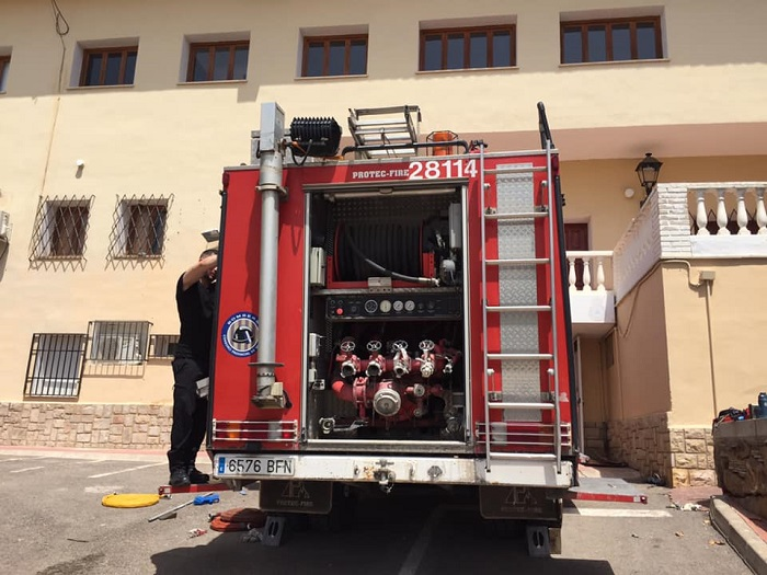 camion bomberos naquera