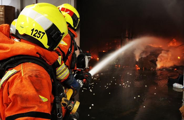 incendio fábrica Bétera