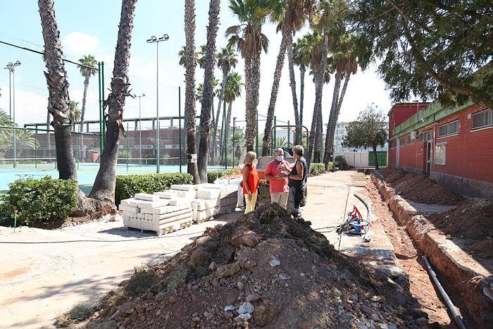 Obras Polideportivo Bétera Camp de Túria