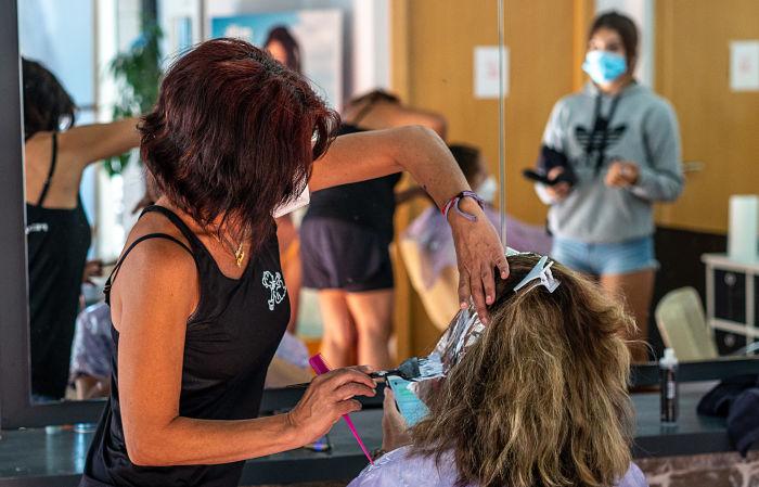 comercio peluquería l'Eliana Camp de Túria