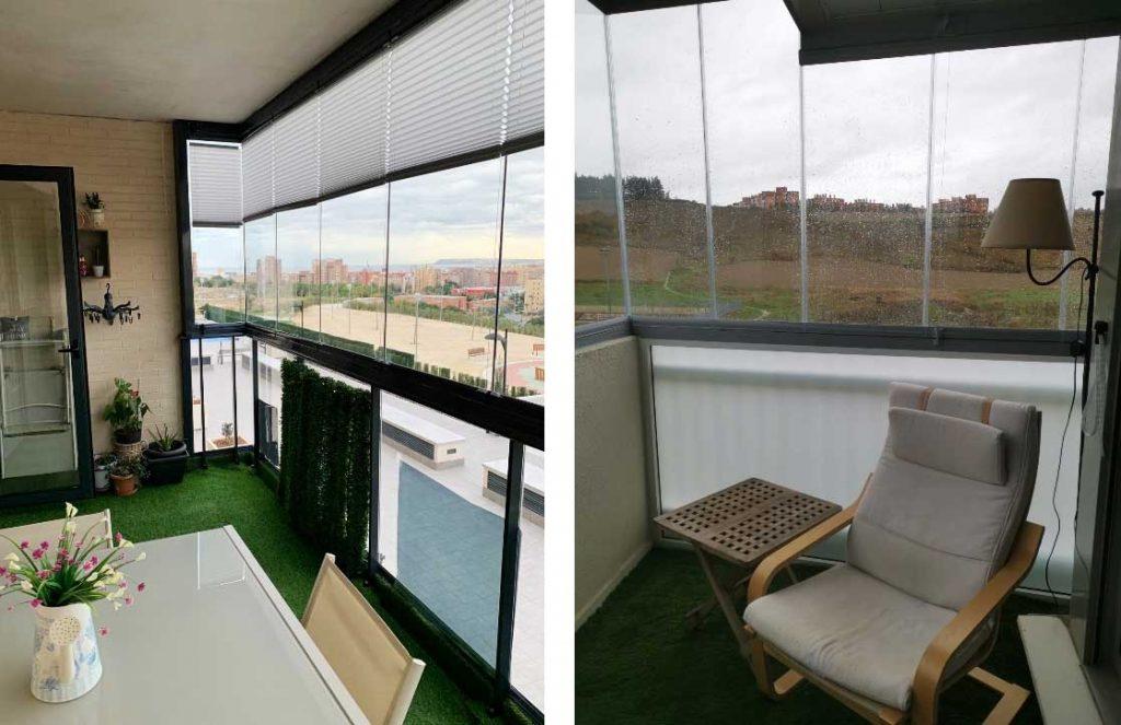 interior terraza vitroglass