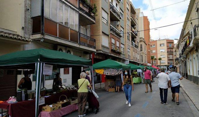 mercado agroalimentario Llíria Camp de Túria