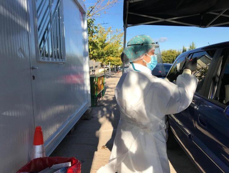 pruebas coronavirus Hospital de Llíria