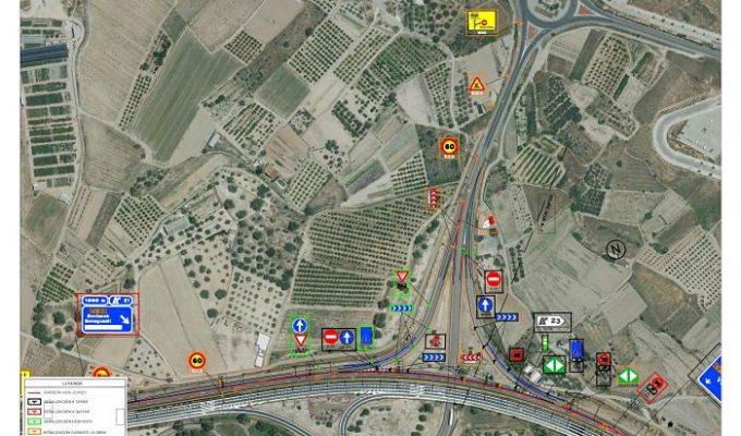 Plano-cierre-ramal-incorporacion-Salida-23-sentido-Valencia