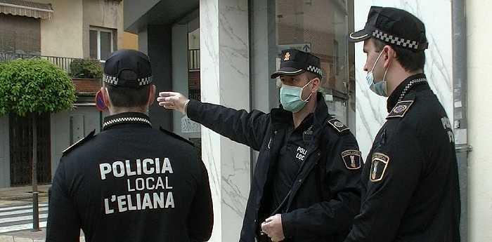 policia local eliana