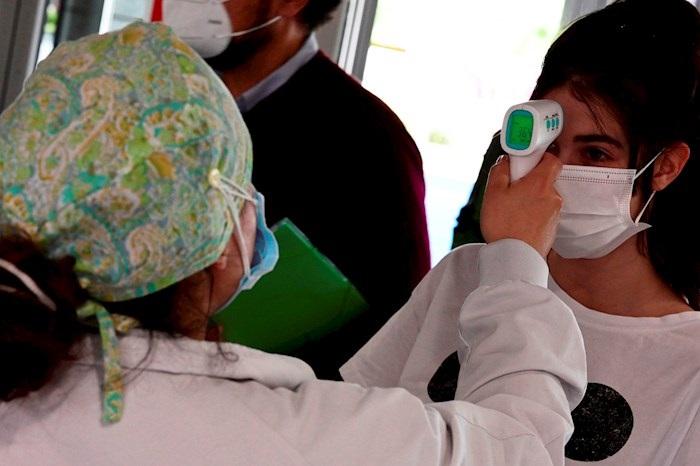 coronavirus termómetro