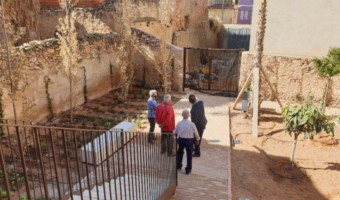 plaza de la torre Ribarroja Camp de Túria