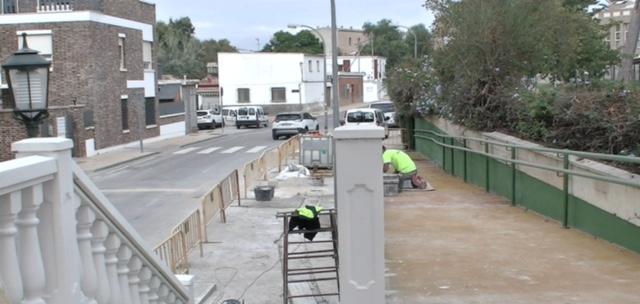 Obras accesibilidad L'eliana camp de Túria