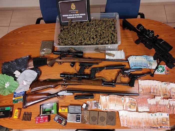 Operación anti droga en Paterna