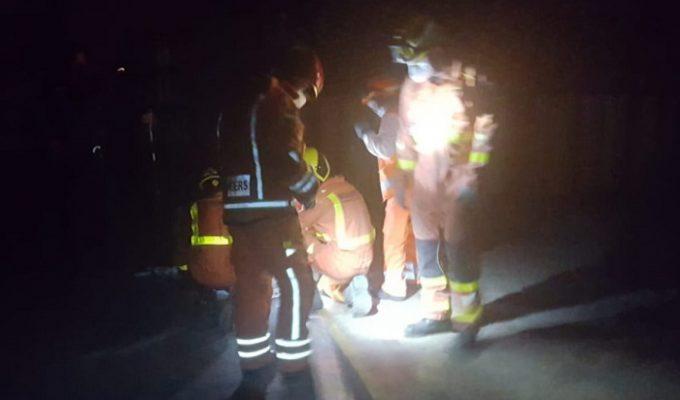 rescate bomberos benaguasil